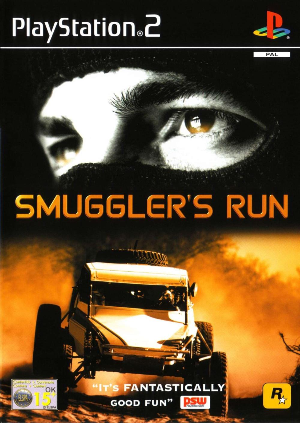 PS2 SMUGGLER'S RUN