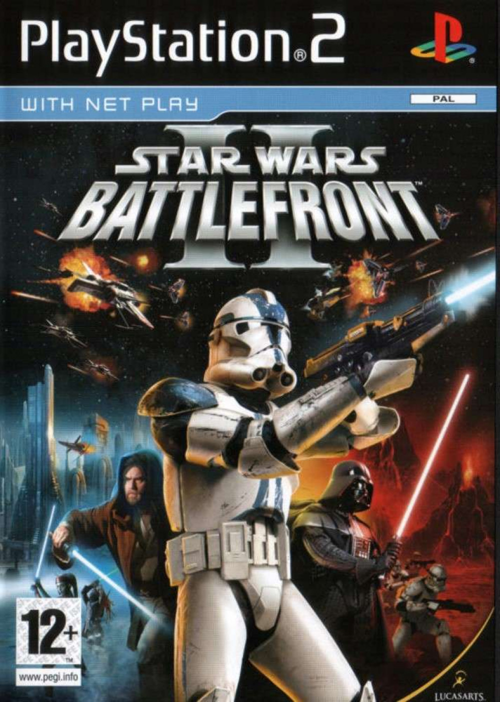 PS2 STAR WARS BATTLEFRONT II (2)