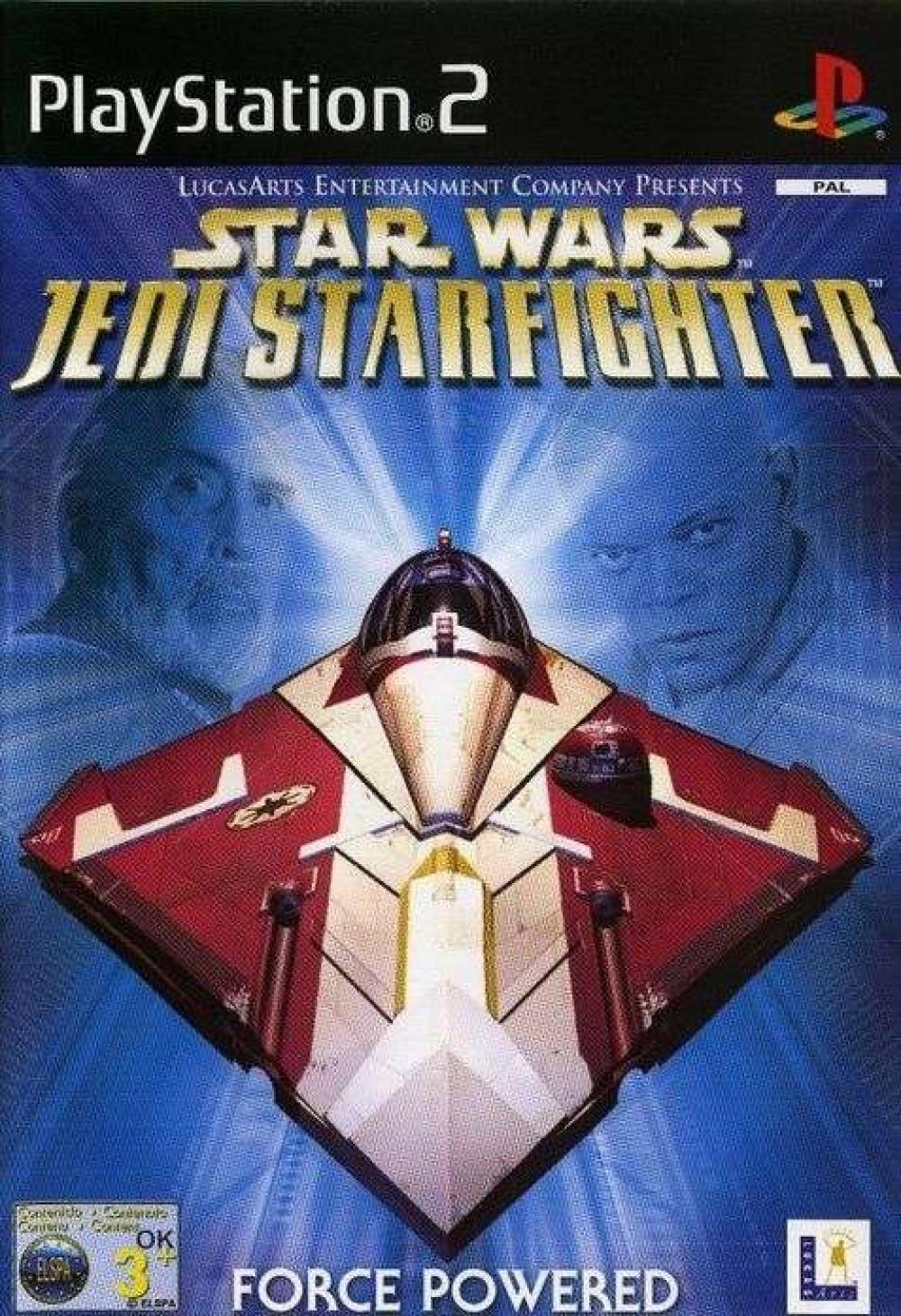 PS2 STAR WARS JEDI STARFIGHTER