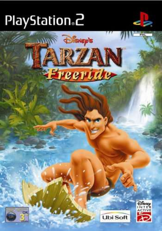PS2 Disney's TARZAN FREERIDE