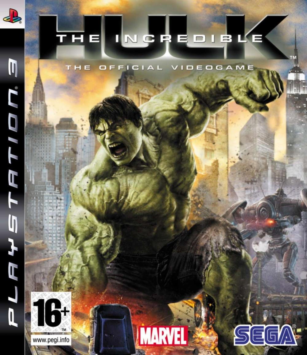 PS3 THE INCREDIBLE HULK
