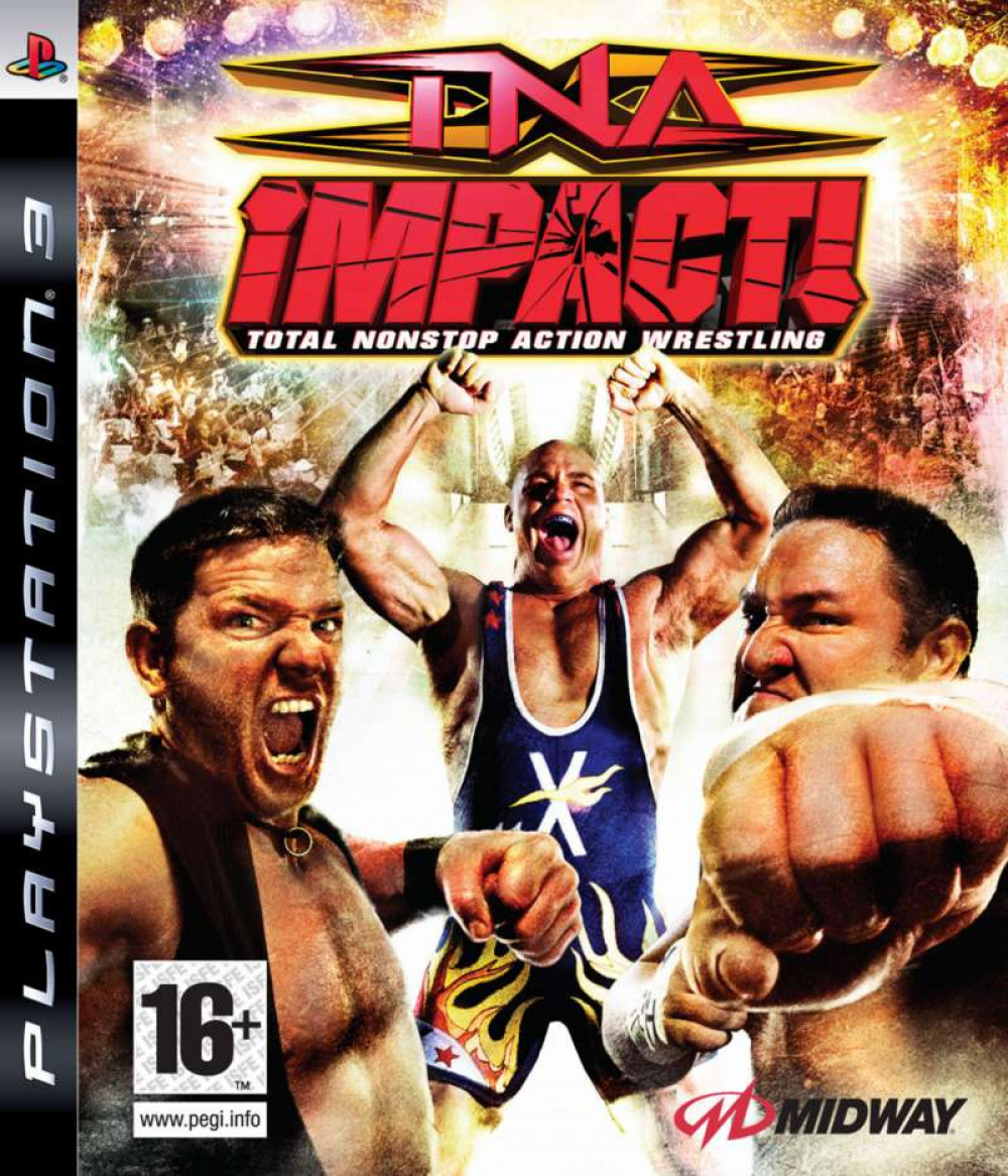 PS3 TNA IMPACT Total Action Wrestling