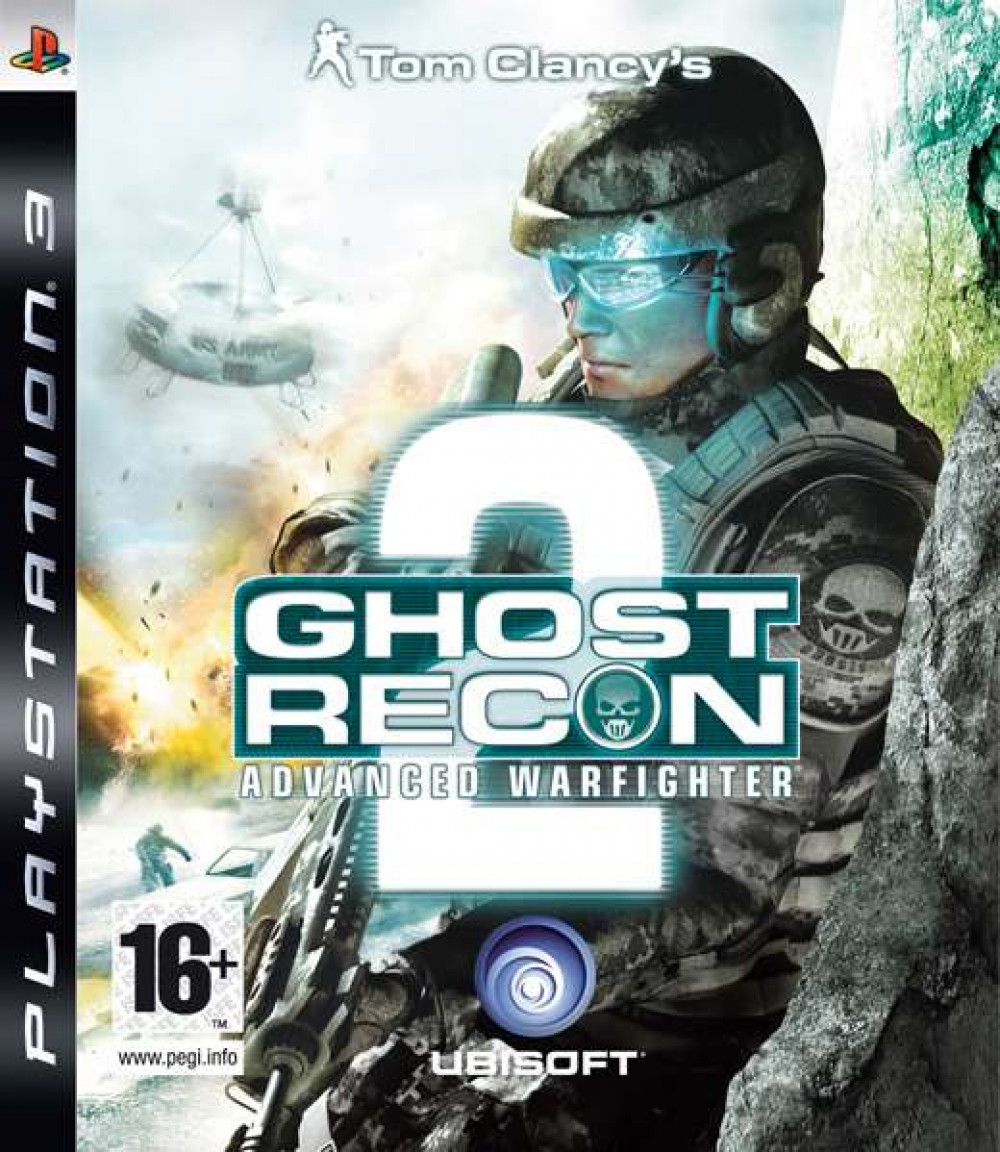 PS3 Tom Clancy's GHOST RECON ADVANCED WARFIGHTER 2