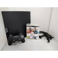 Slim Console 160 GB + Bluetooth Dualshock 3 Controller PS3