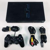 PS2 Fat Console + Controller + Memory Card + 3 gratis PS2 games