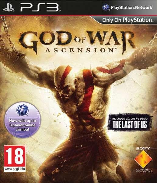 Playstation 3 PS3 GOD OF WAR ASCENSION games game jeux jeu video spel spelletjes