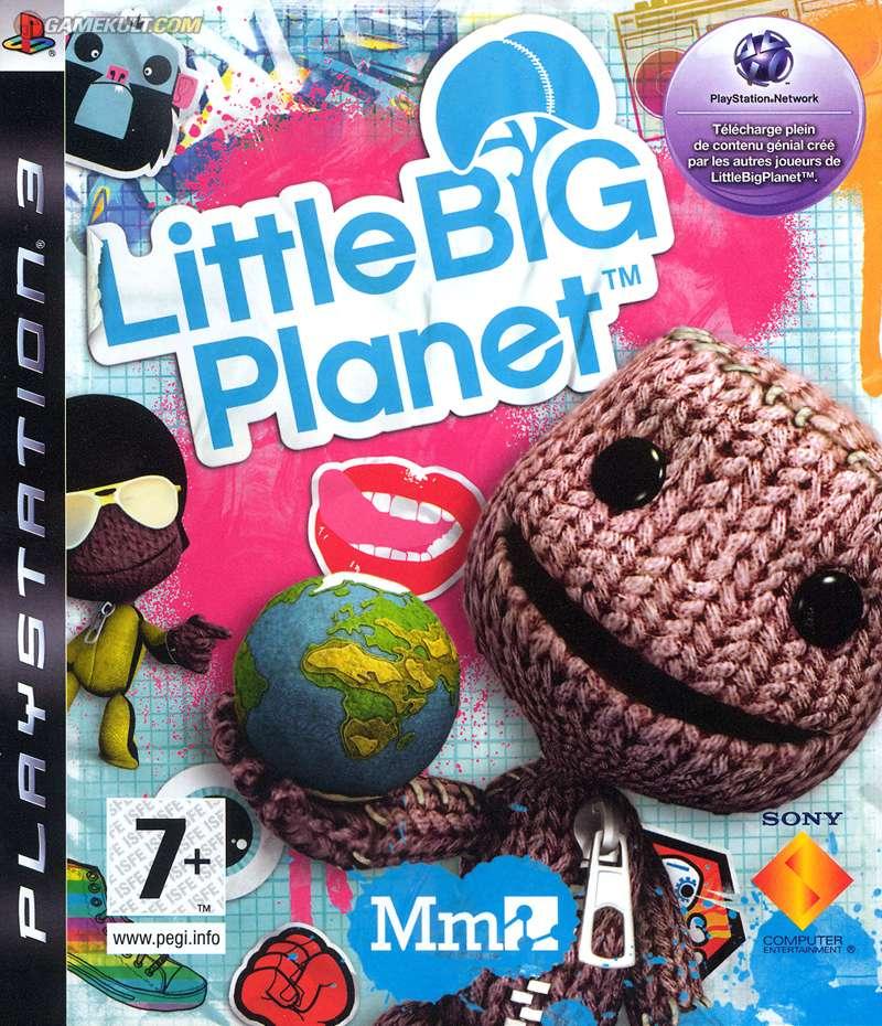 Playstation 3 PS3 LITTLE BIG PLANET games game jeux jeu video spel spelletjes